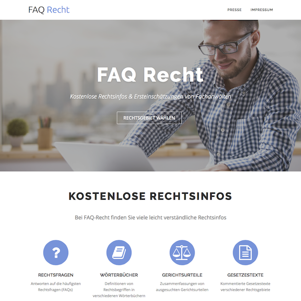 FAQ-Recht