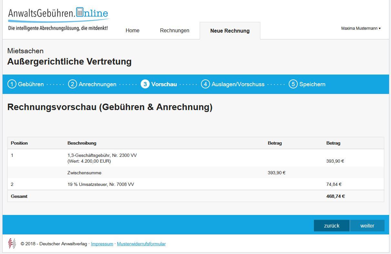 AnwaltsGebühren.Online Software