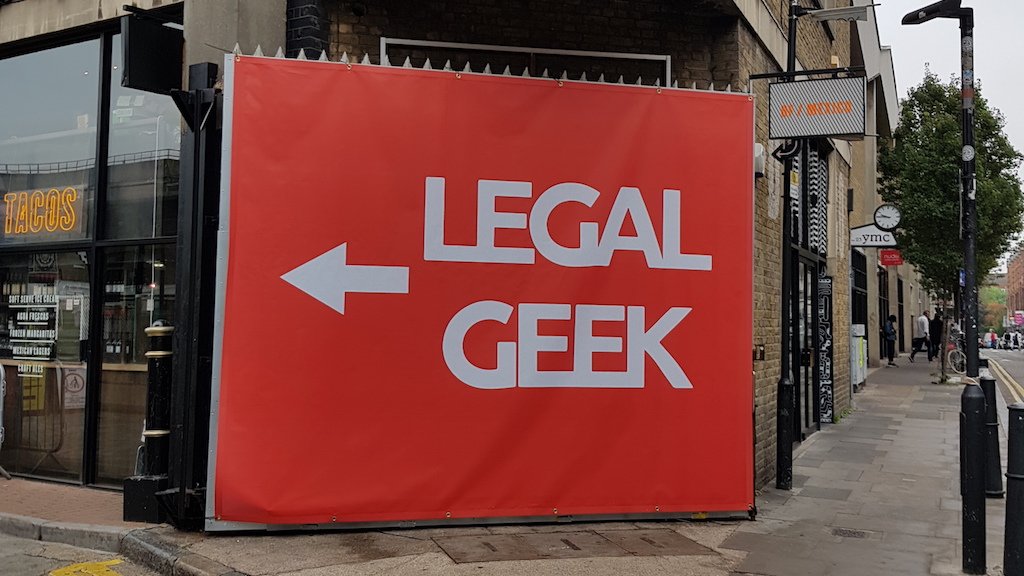 Legal Geek London 2018