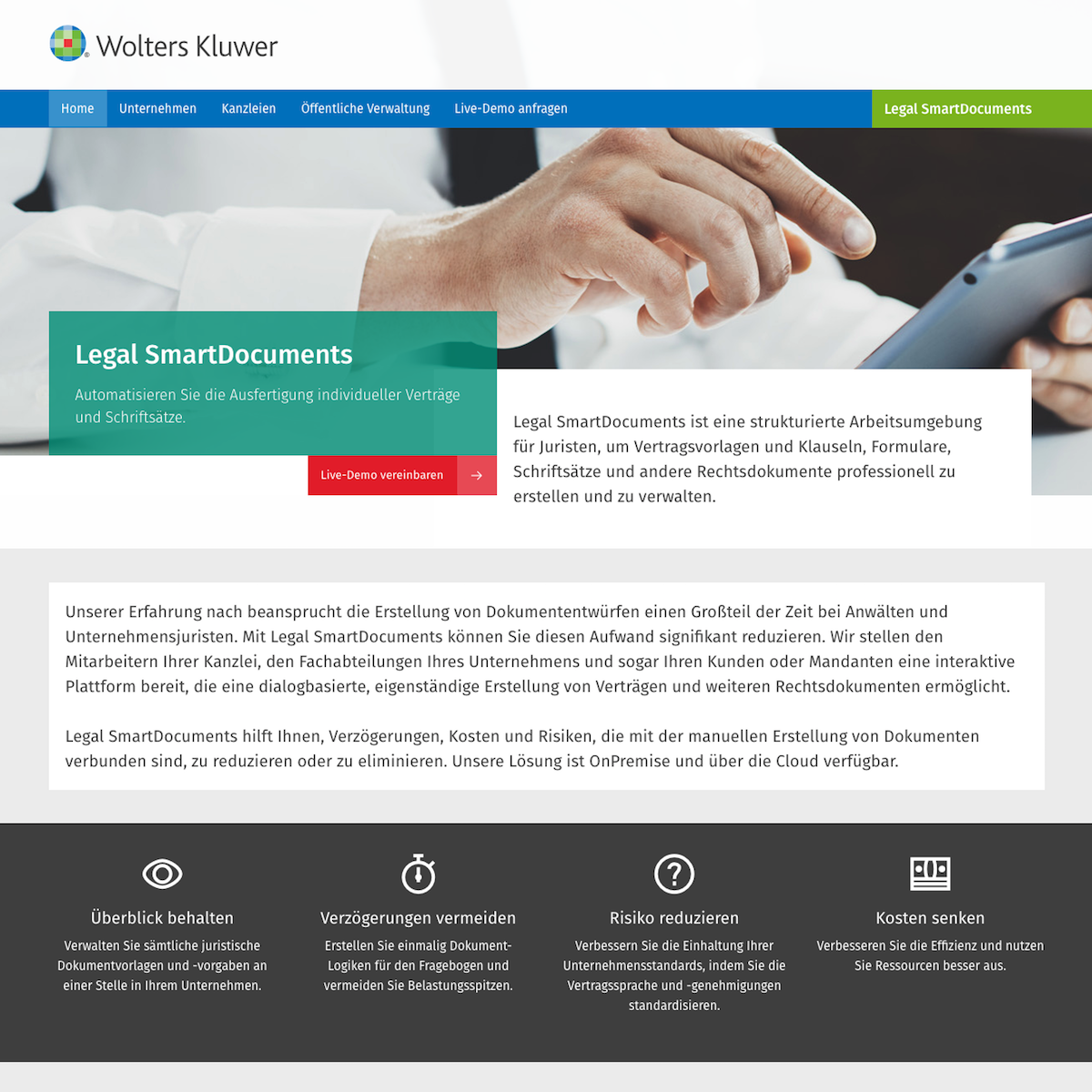 Legal SmartDocuments