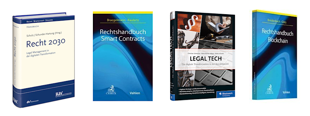 Legal Tech Bücher 2019