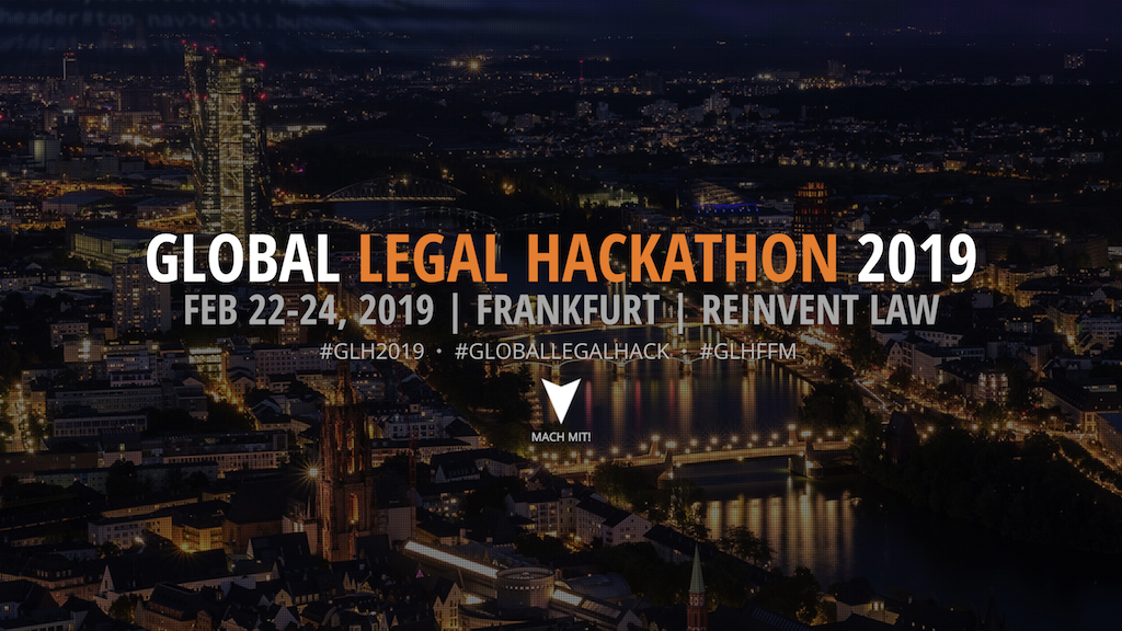 Global Legal Hackathon Frankfurt am Main 2019