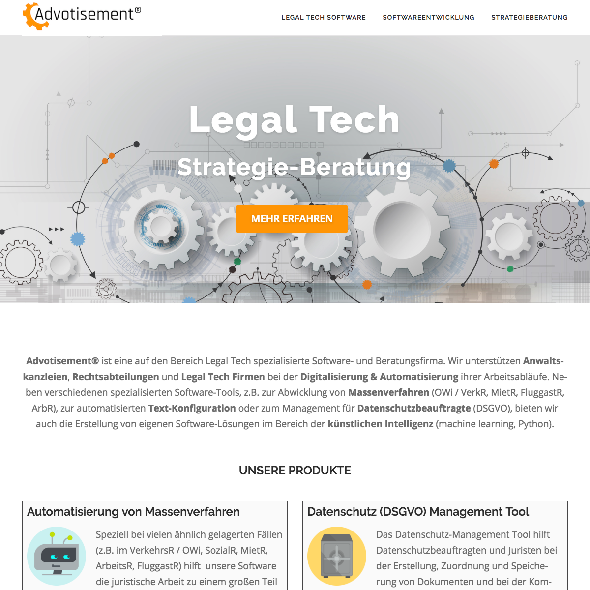 ADVOTISEMENT LEGAL TECH