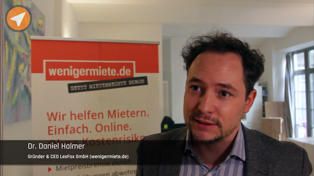 Video wenigermiete.de Daniel Halmer