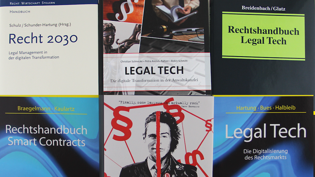 Legal Tech Bücher