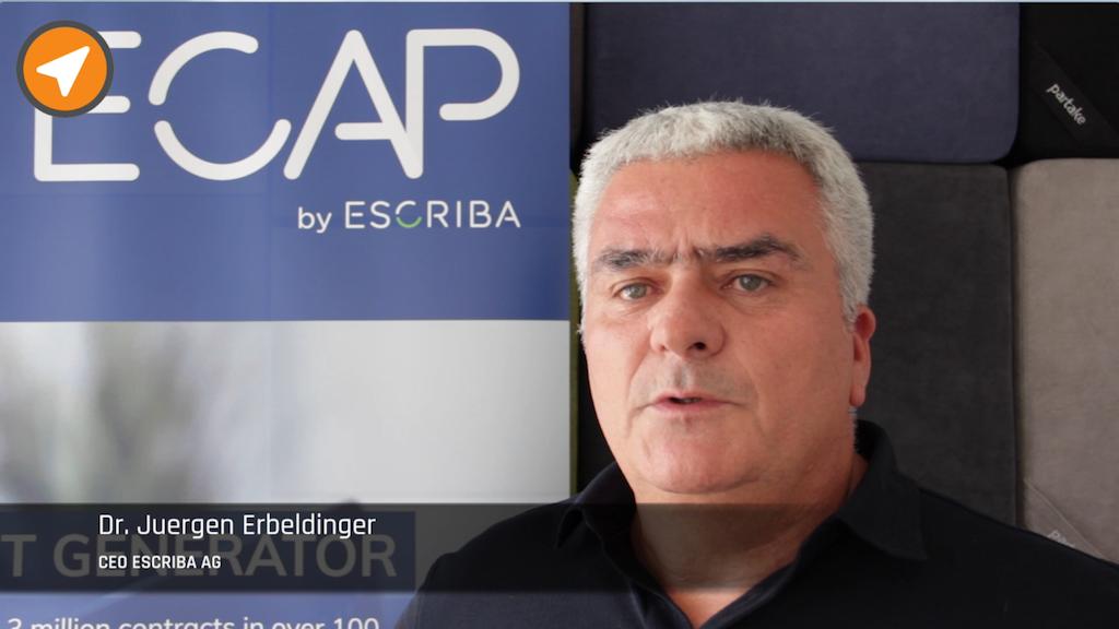 Dr. Erbeldinger ESCRIBA AG im Interview