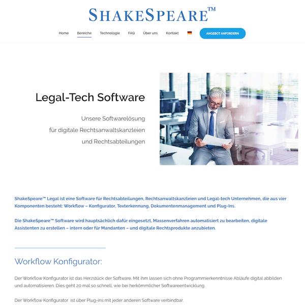 ShakeSpeare Legal
