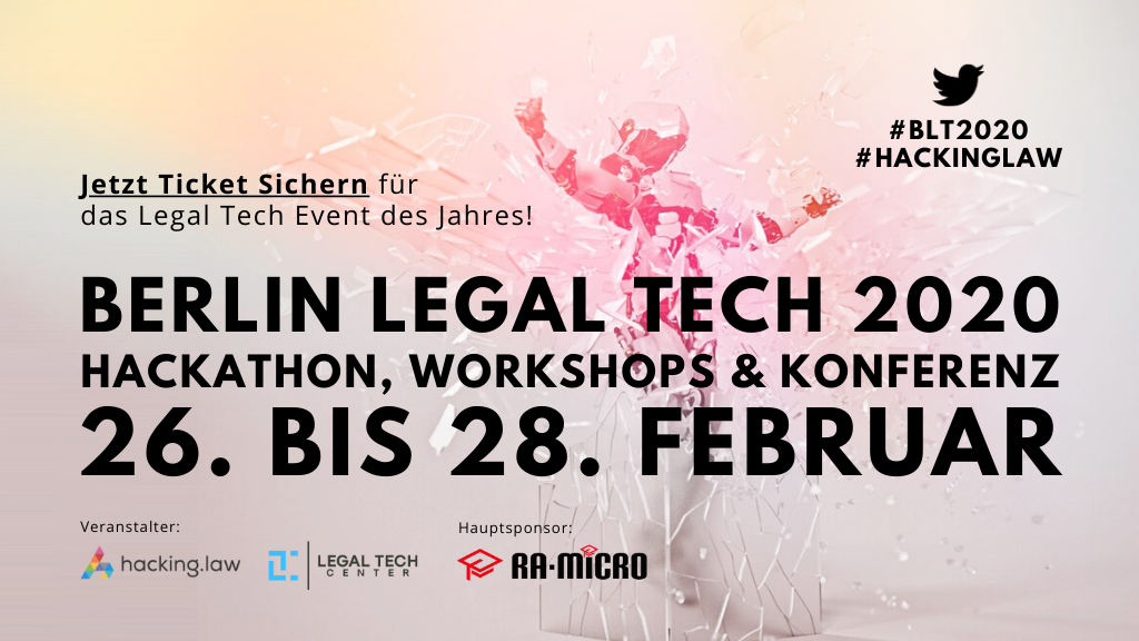 Berlin Legal Tech 2020
