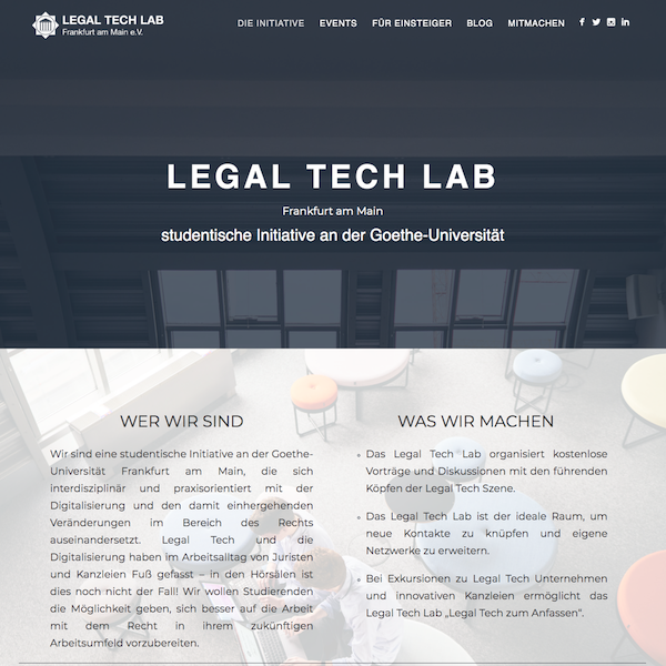 Legal Tech Lab | Frankfurt am Main