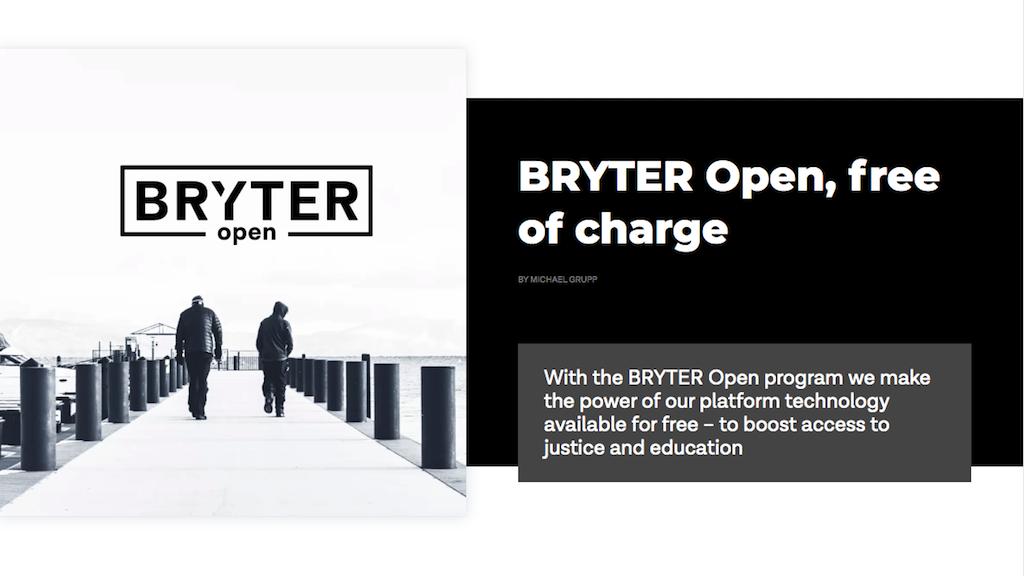 BRYTER open