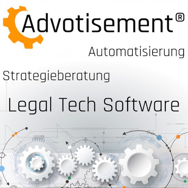 Advotisement Legal Tech Beratung