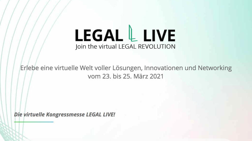 Legal Live Messe 2021