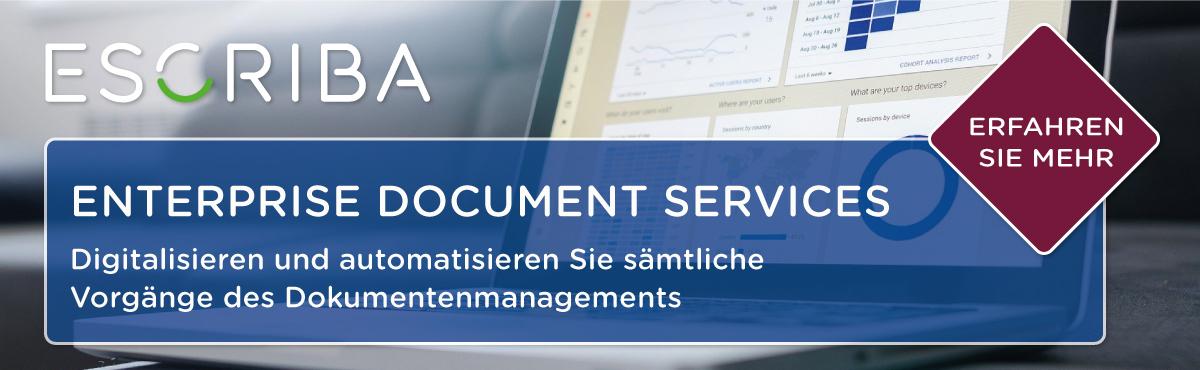 ESCRIBA Enterprise Document Services
