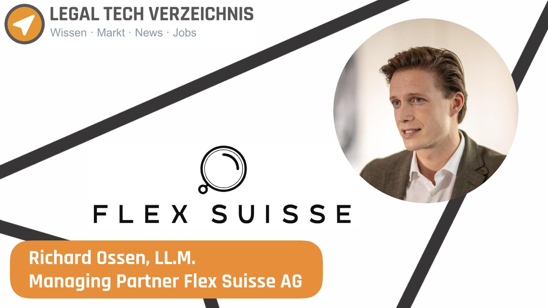 Interview mit Richard Ossen von Flex Suisse