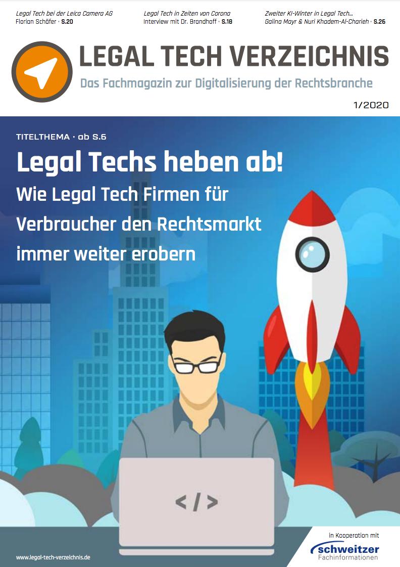 Legal Tech Magazin Titel
