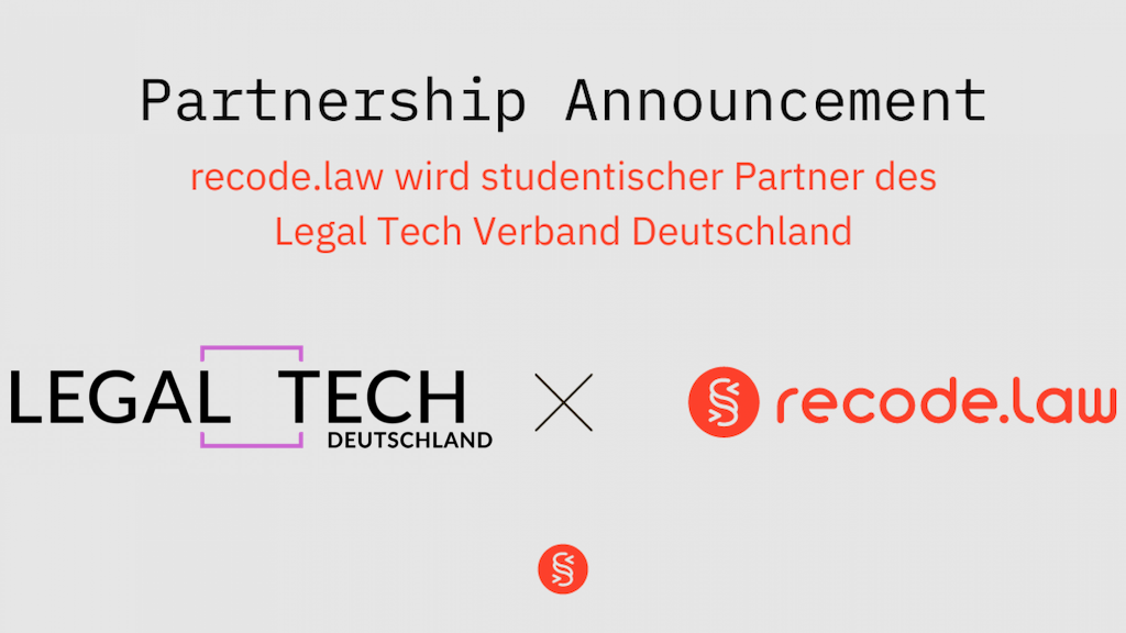Recode Law Legal Tech Verband