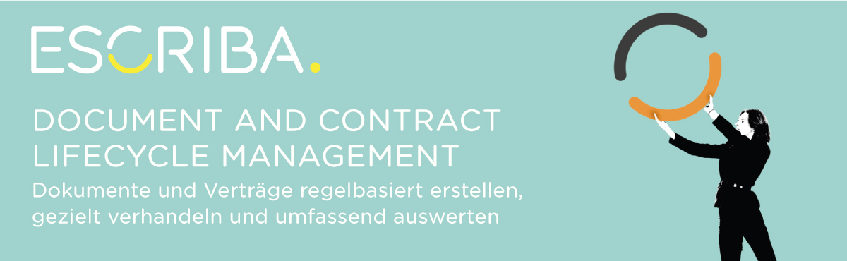 ESCRIBA Document and Contract Lifecycle Management