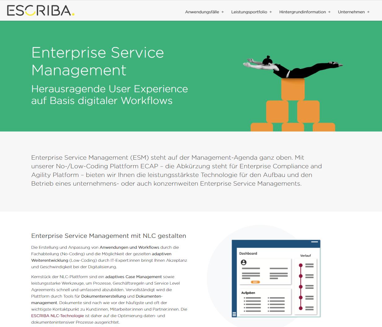 ESCRIBA Enterprise Service Management
