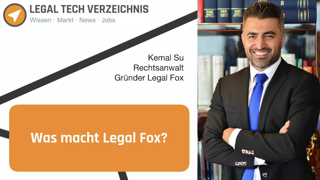 Interview mit Kemal Su von Legal Fox